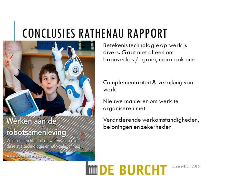 Conclusies Rathenau rapport