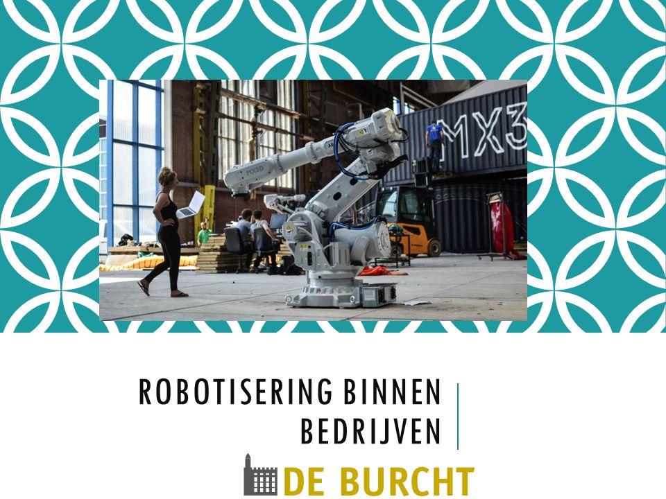 Robotisering binnen bedrijven