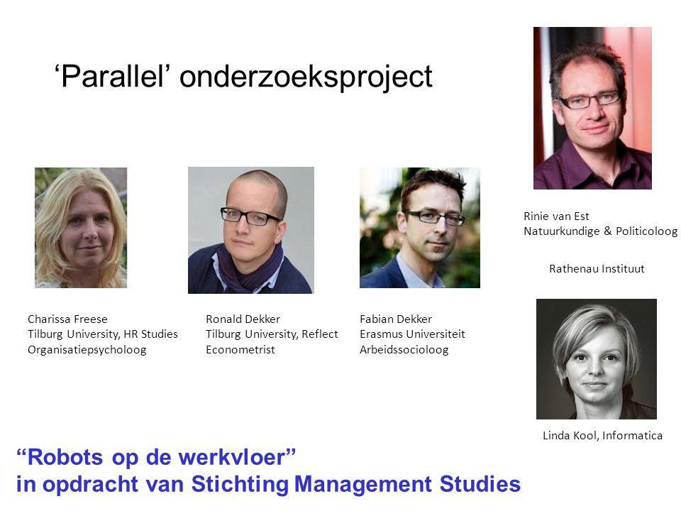 'Parallel' onderzoeksproject