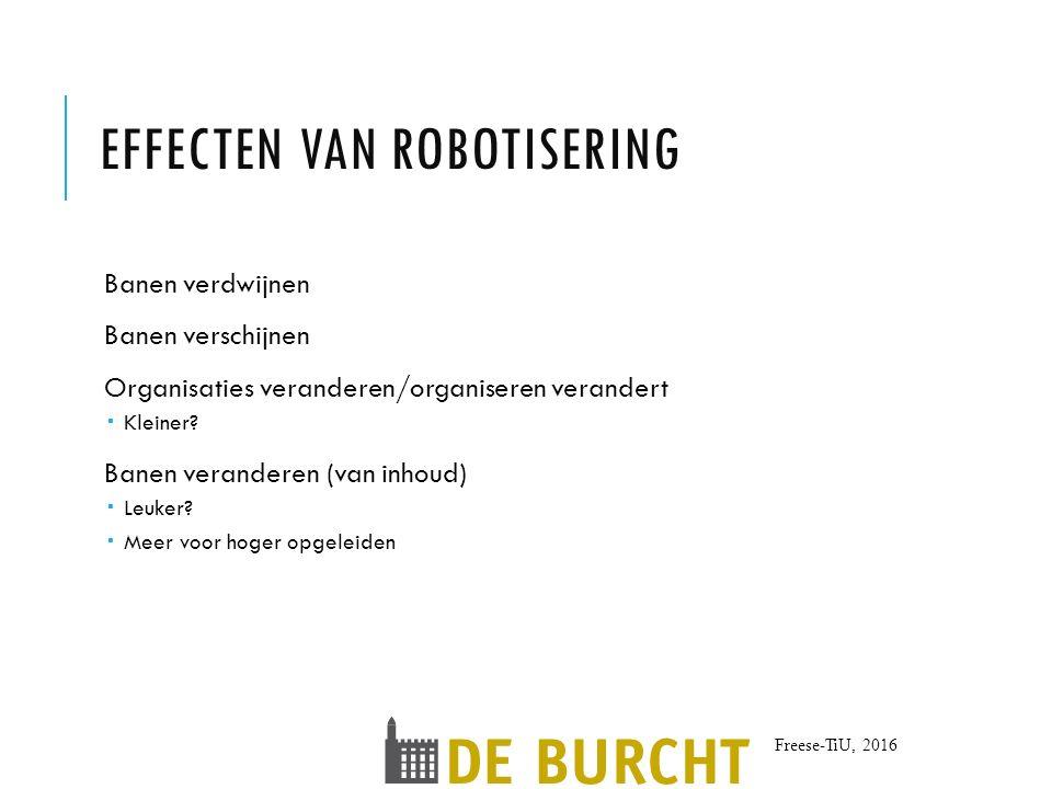 Effecten van robotisering