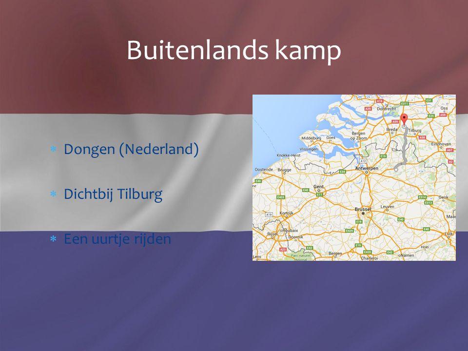 Buitenlands kamp Dongen (Nederland) Dichtbij Tilburg Een uurtje rijden