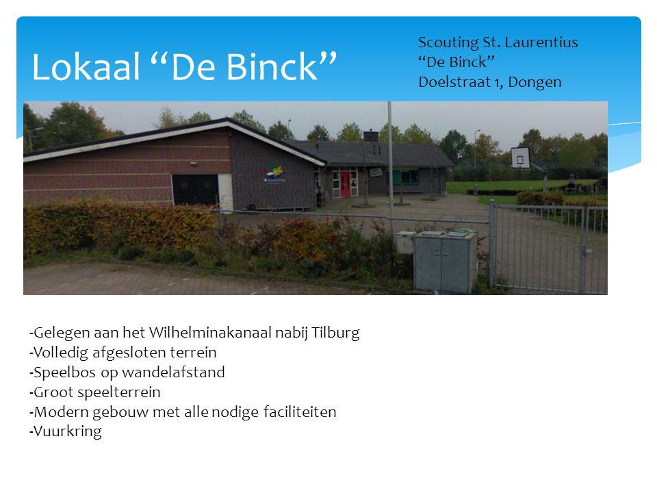 Lokaal De Binck Scouting St. Laurentius De Binck