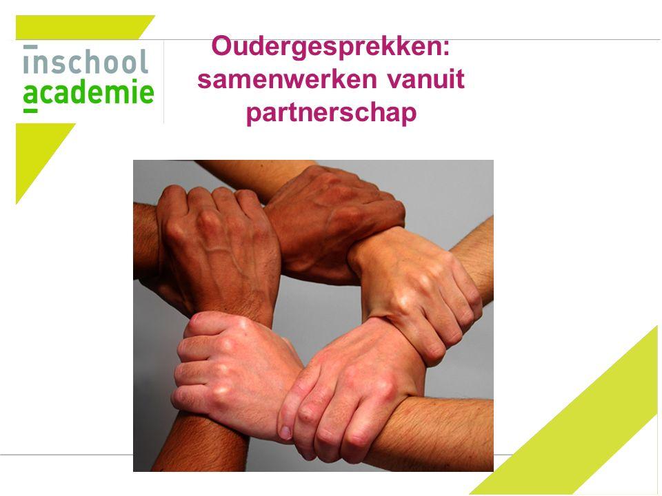 Oudergesprekken: samenwerken vanuit partnerschap