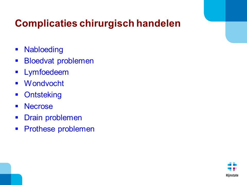 Complicaties chirurgisch handelen