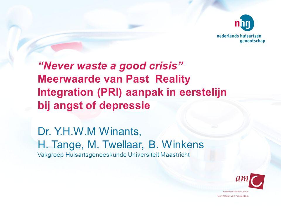 H. Tange, M. Twellaar, B. Winkens
