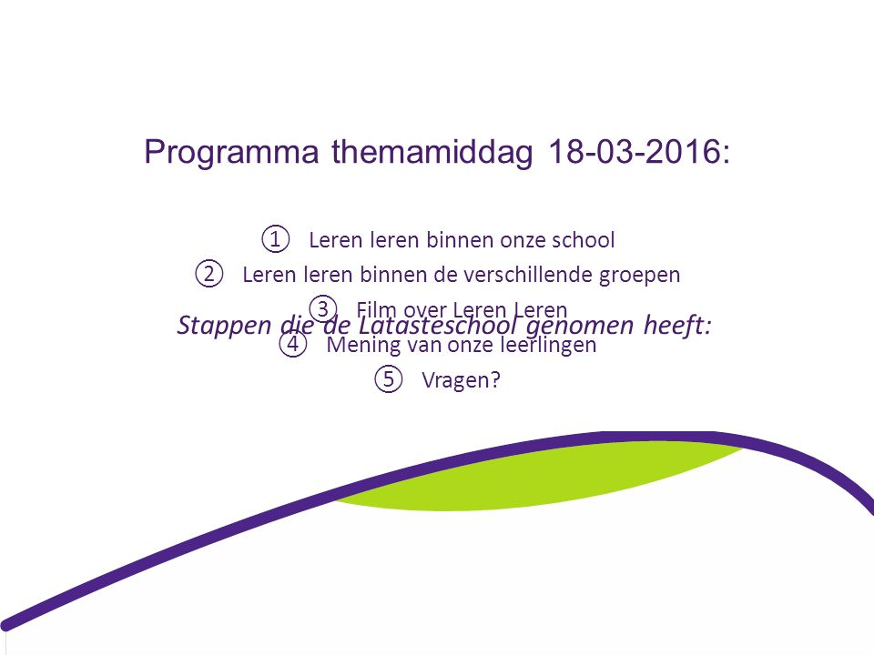 mening leerlingen over de school