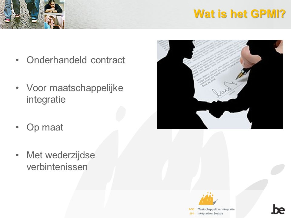 Wat is het GPMI Onderhandeld contract