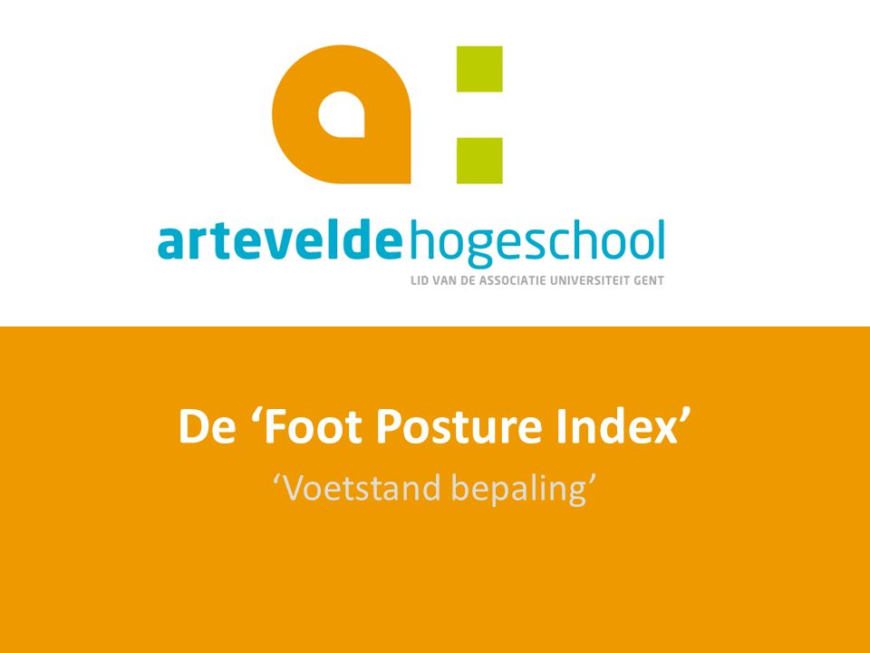 De 'Foot Posture Index'