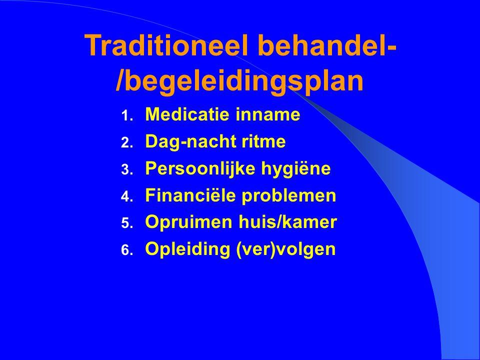Traditioneel behandel-/begeleidingsplan