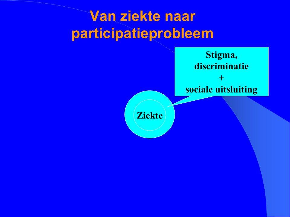 Van ziekte naar participatieprobleem