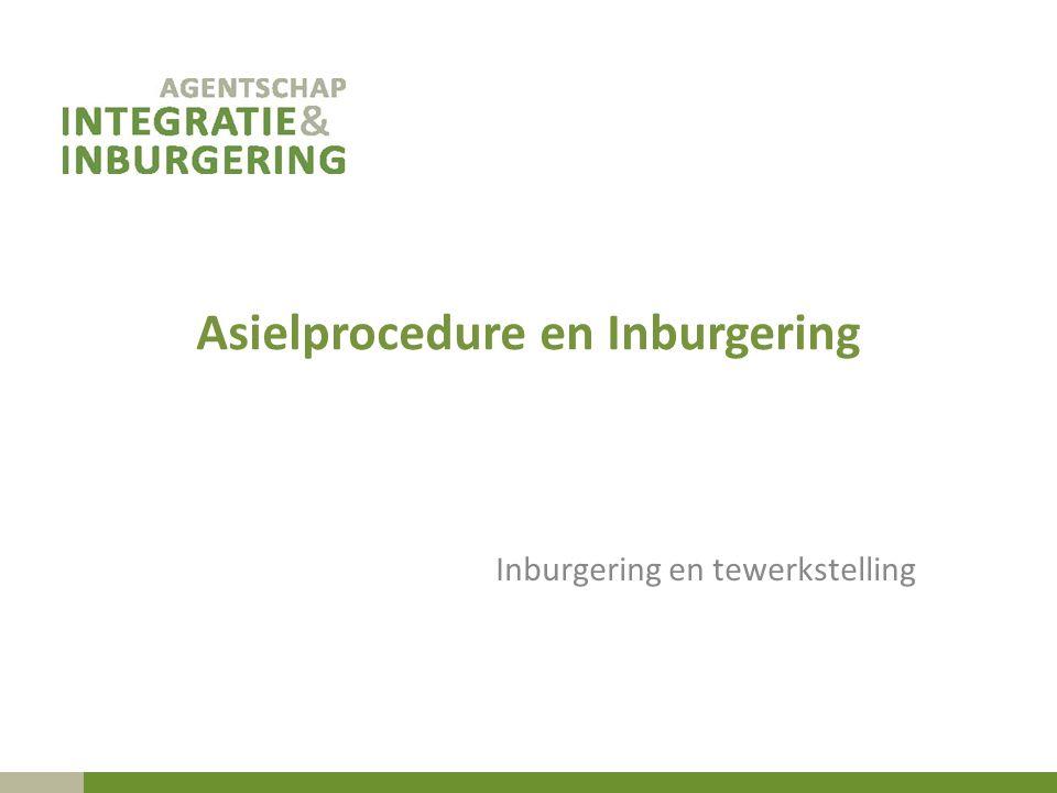 Asielprocedure en Inburgering