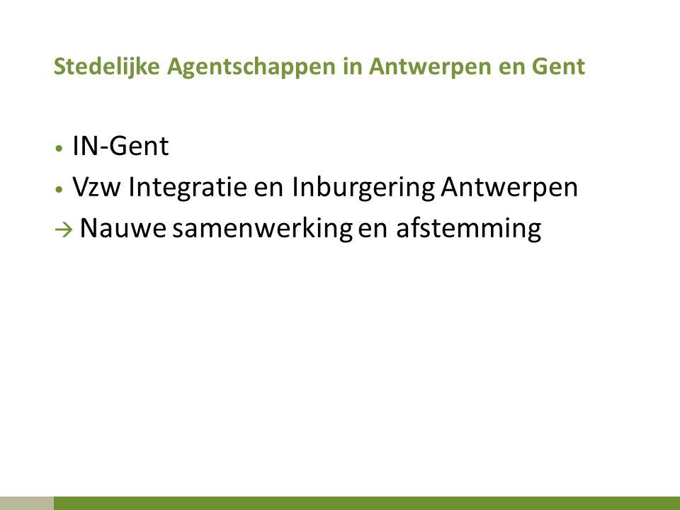 Vzw Integratie en Inburgering Antwerpen