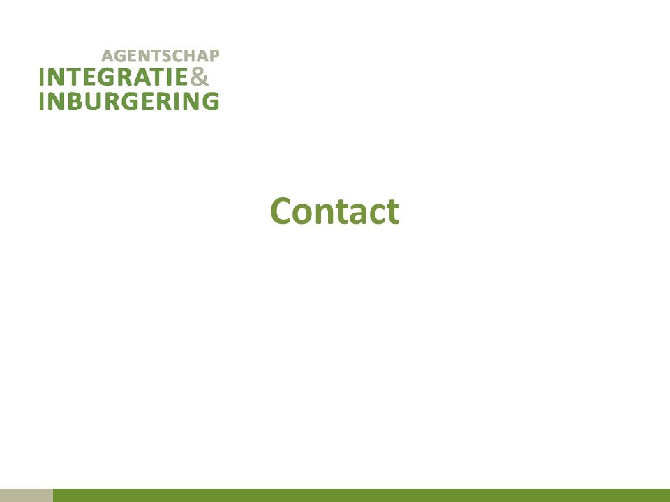 Contact Omgevingsanalyse samenvatting grote uitdagingen