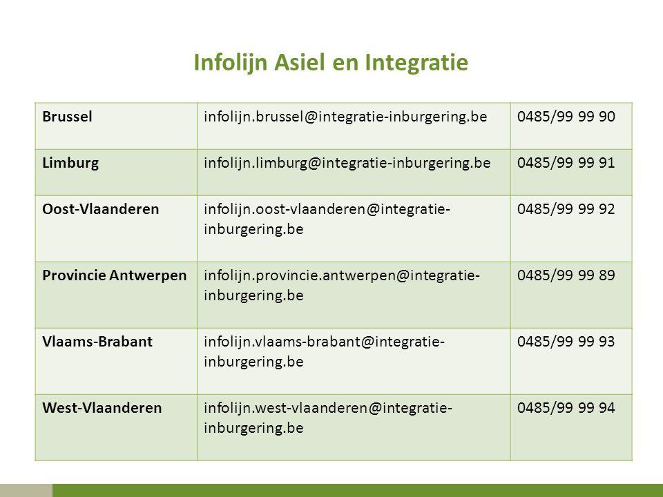 Infolijn Asiel en Integratie