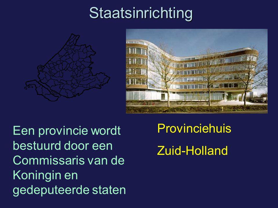 Staatsinrichting Provinciehuis