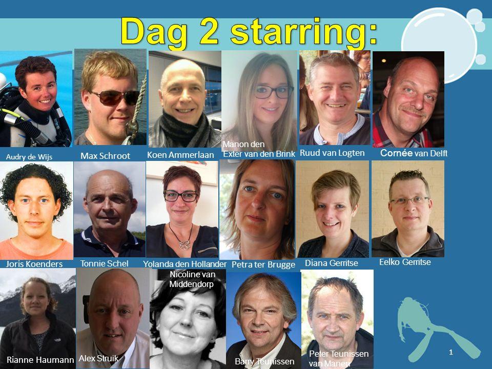 Dag 2 starring: Koen Ammerlaan Ruud van Logten Max Schroot