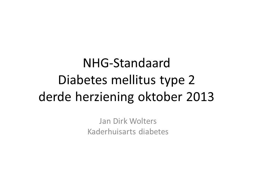 NHG-Standaard Diabetes mellitus type 2 derde herziening oktober 2013