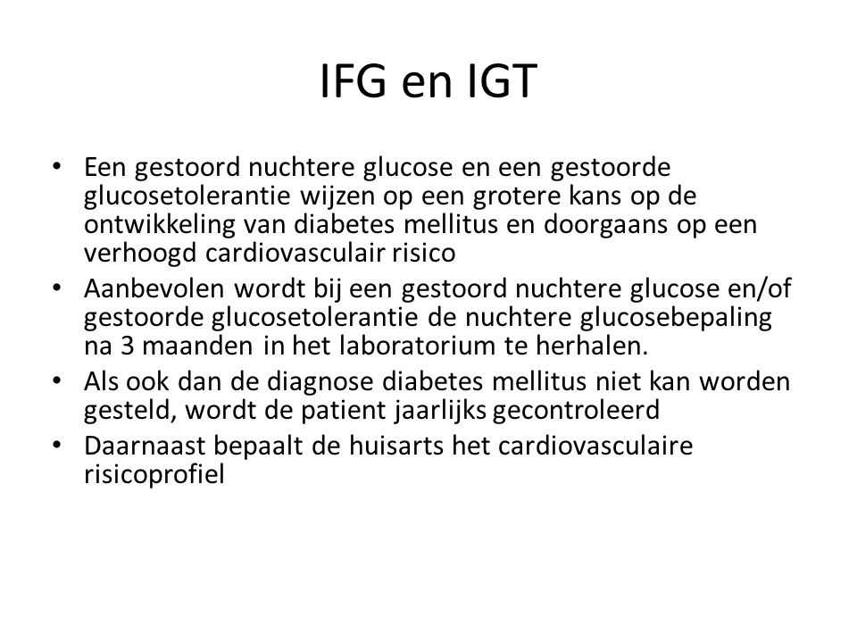 IFG en IGT