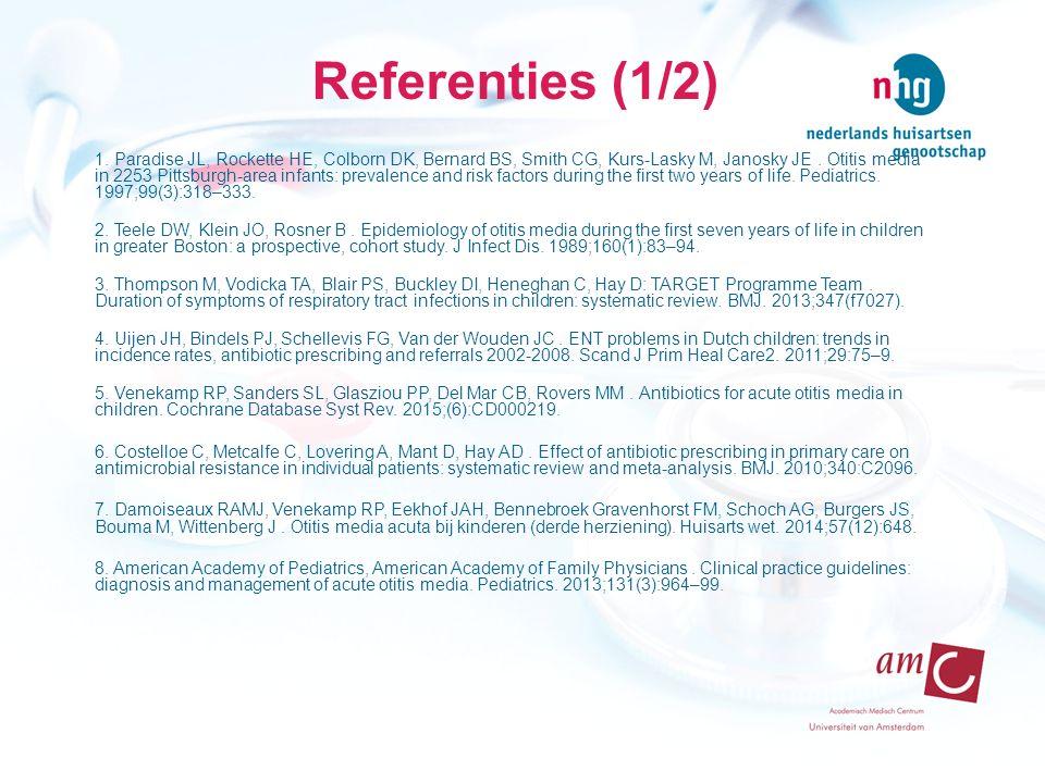 Referenties (1/2)