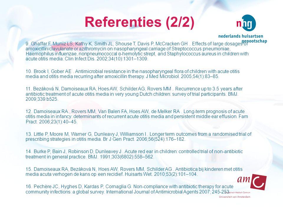 Referenties (2/2)