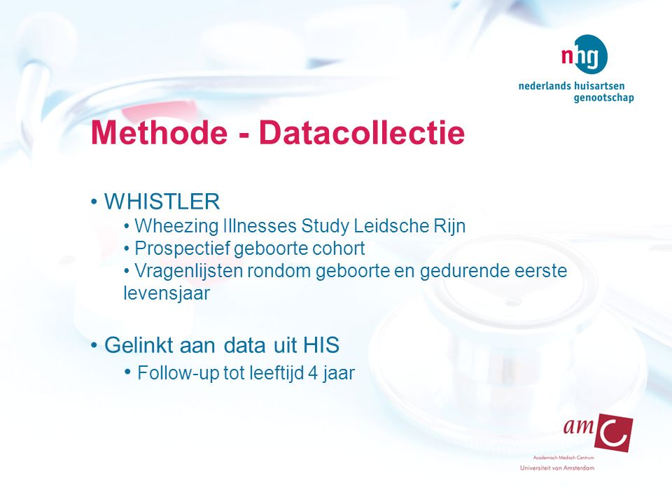Methode - Datacollectie