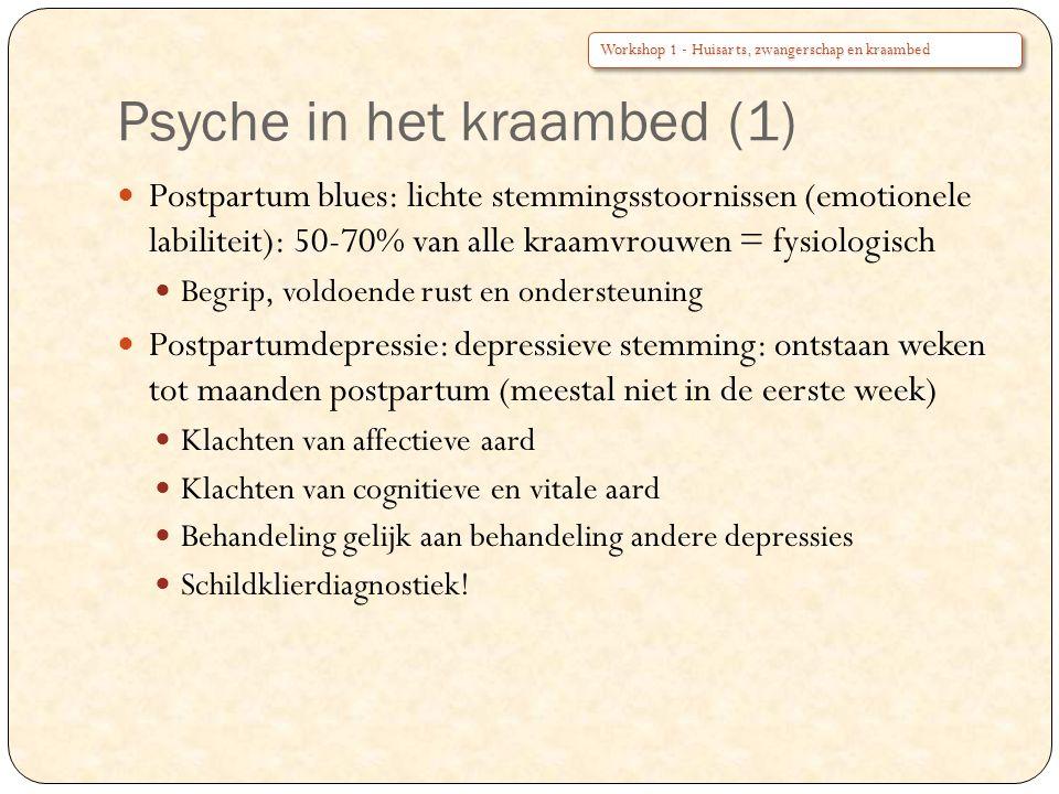 Psyche in het kraambed (1)