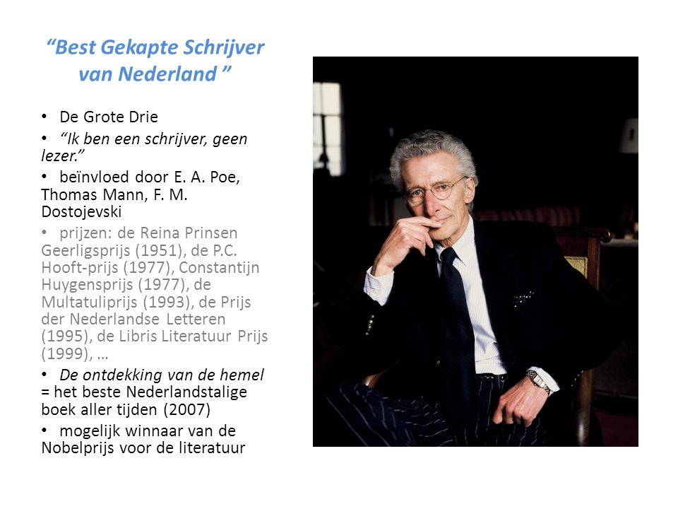 Best Gekapte Schrijver van Nederland