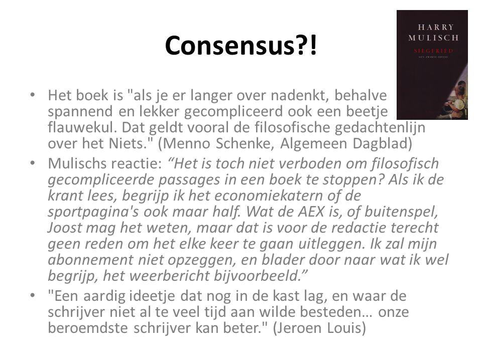 Consensus !