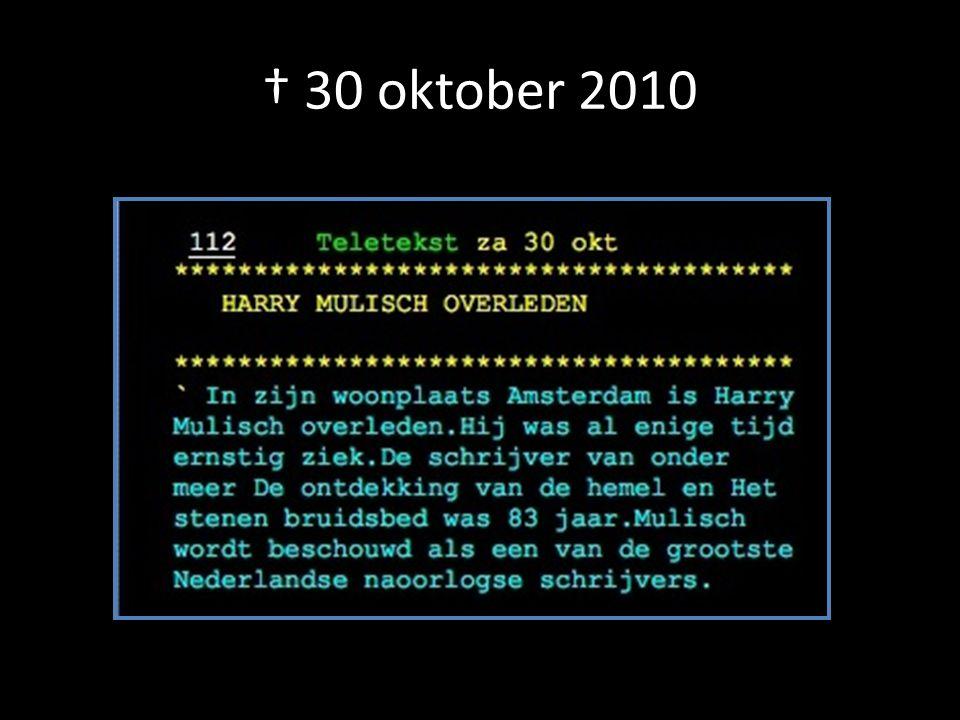 † 30 oktober 2010
