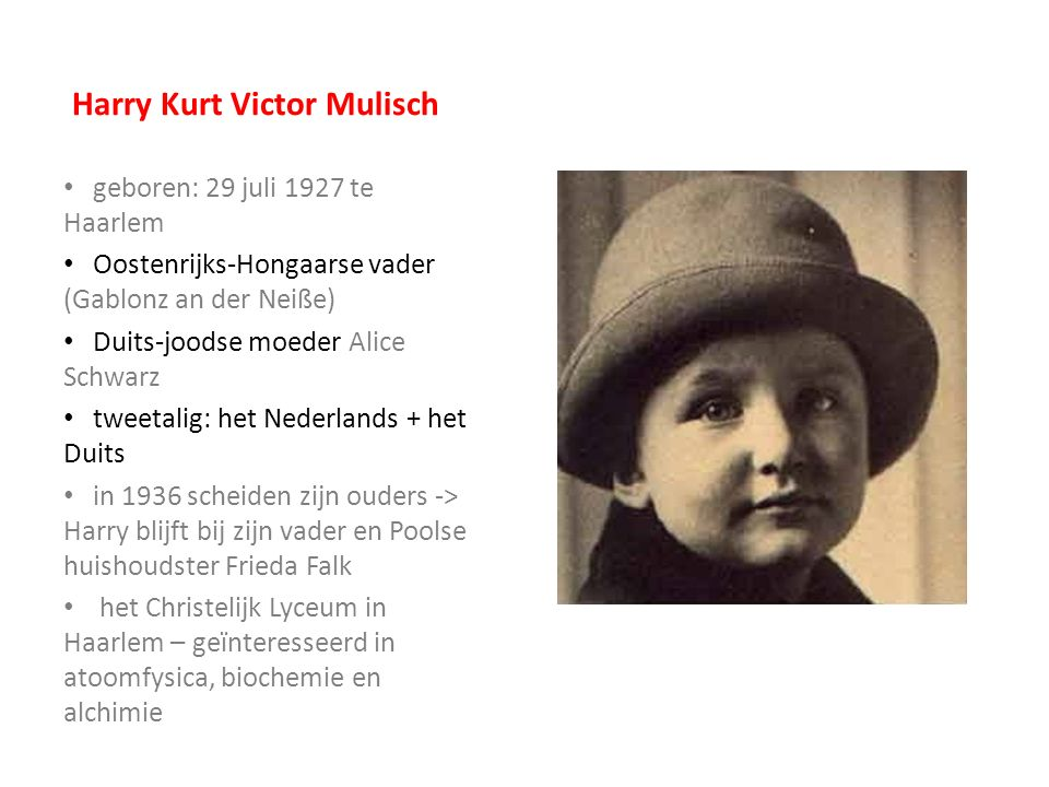 Harry Kurt Victor Mulisch