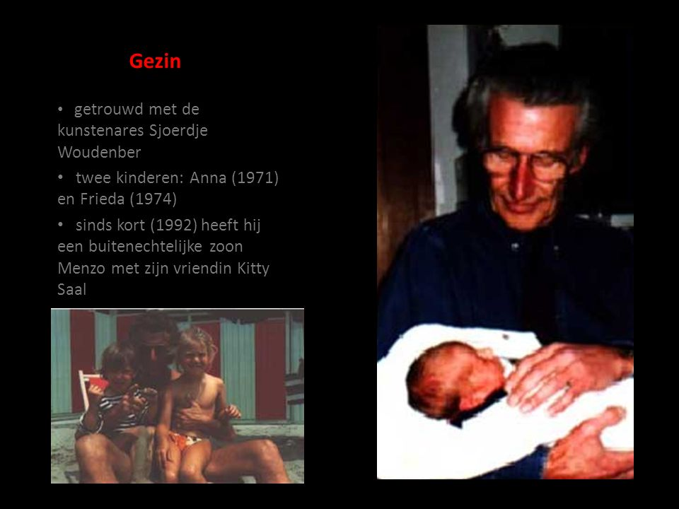Gezin twee kinderen: Anna (1971) en Frieda (1974)