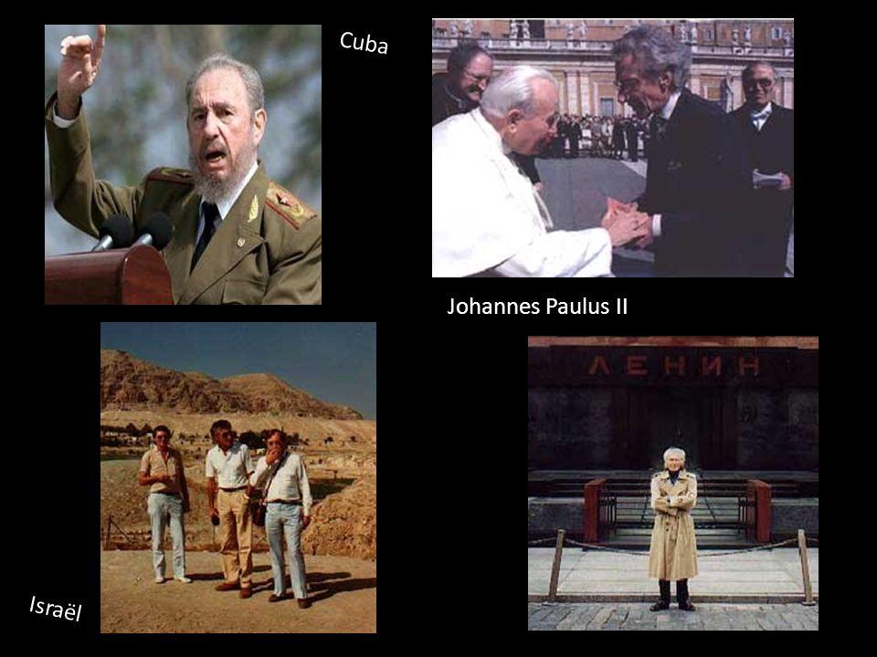 Cuba Johannes Paulus II Israël