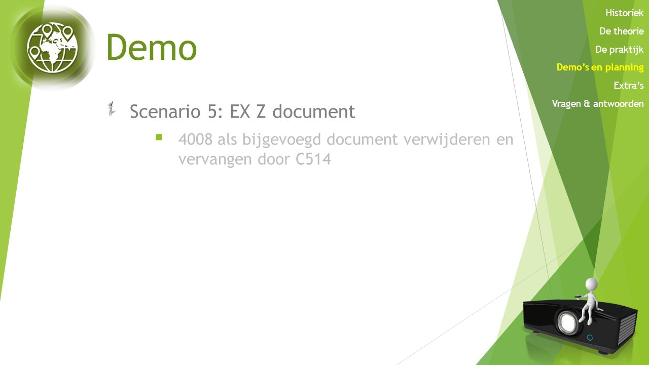 Demo Scenario 5: EX Z document