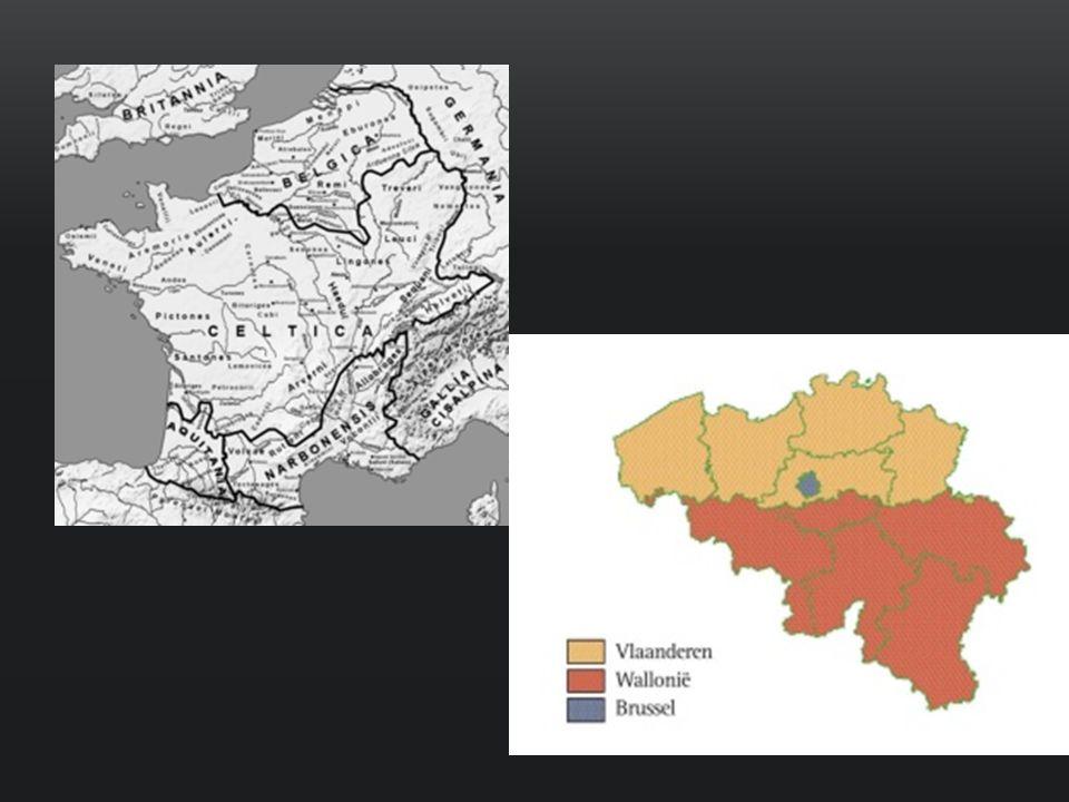 De provincie Belgica in het Romeinse Rijk en het hedendaagse België