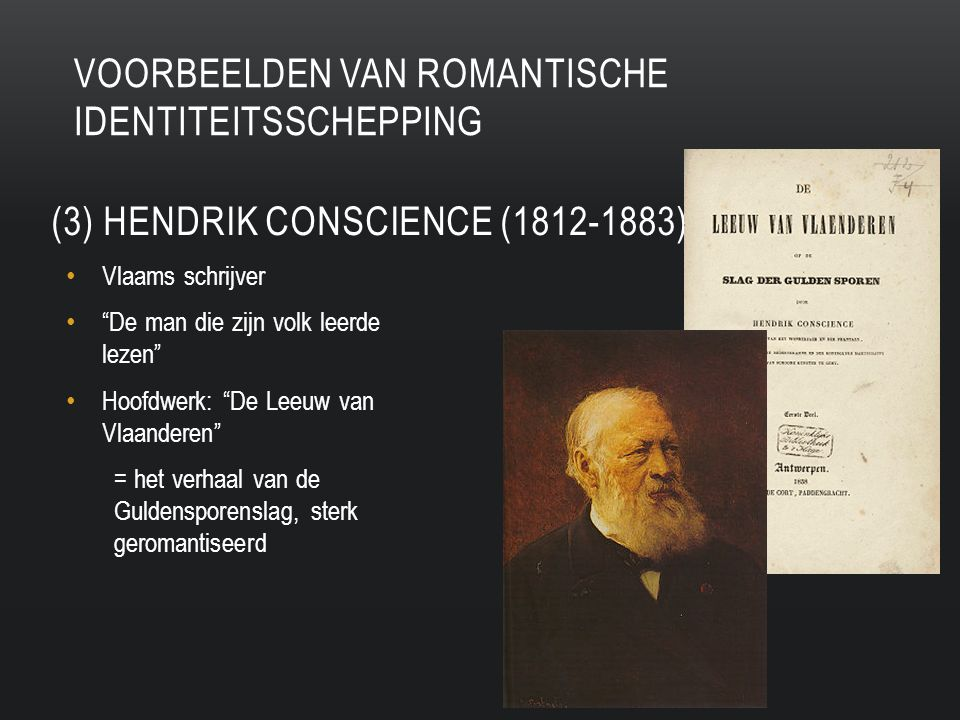 (3) Hendrik conscience (1812-1883)