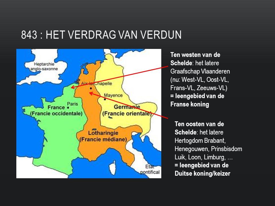843 : het Verdrag van Verdun