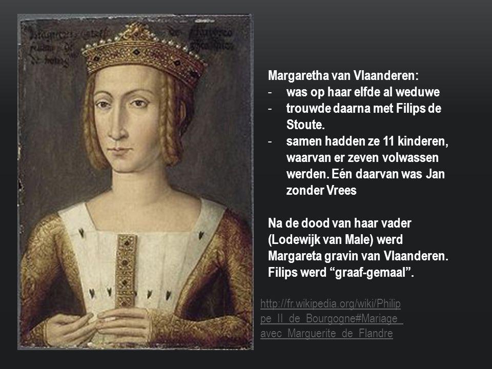 Margaretha van Vlaanderen: was op haar elfde al weduwe