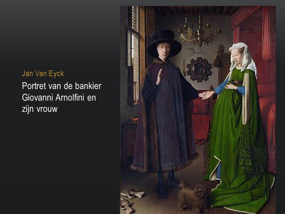 Portret van de bankier Giovanni Arnolfini en zijn vrouw