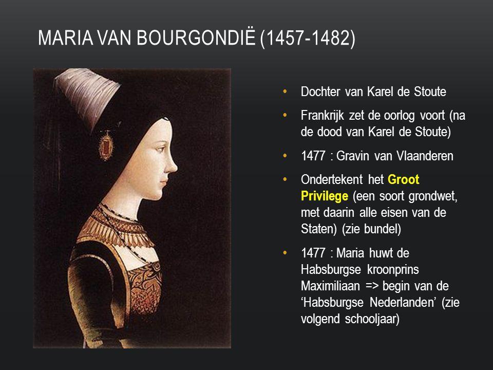 Maria van bourgondië (1457-1482)