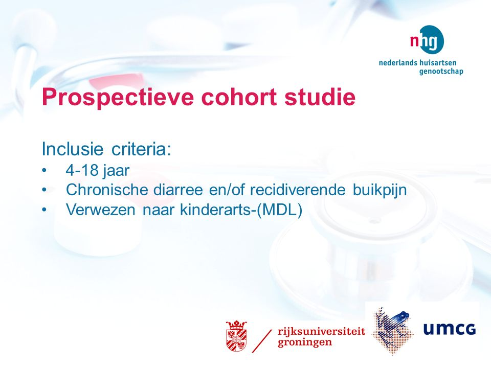 Prospectieve cohort studie