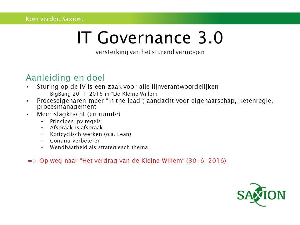IT Governance 3.0 versterking van het sturend vermogen