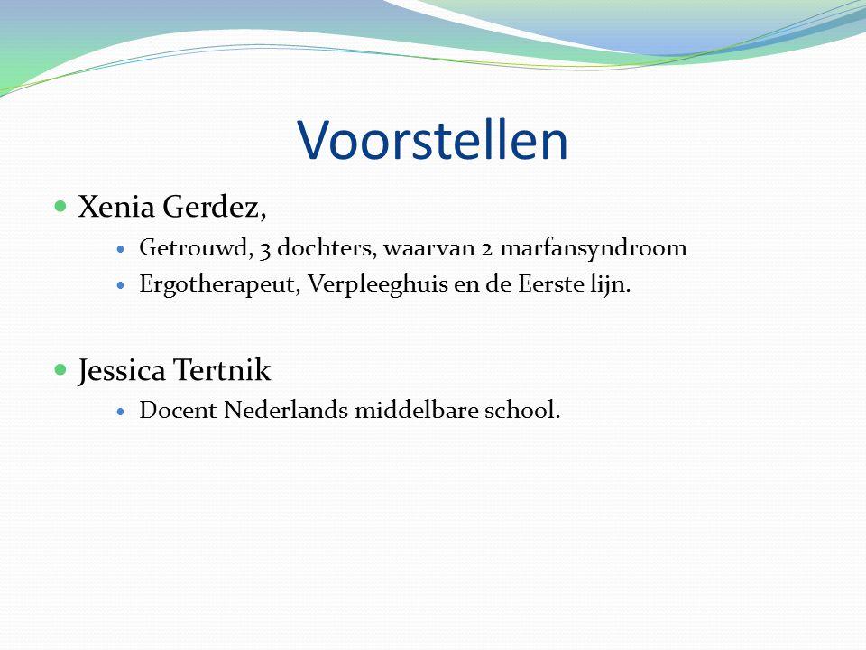 Voorstellen Xenia Gerdez, Jessica Tertnik