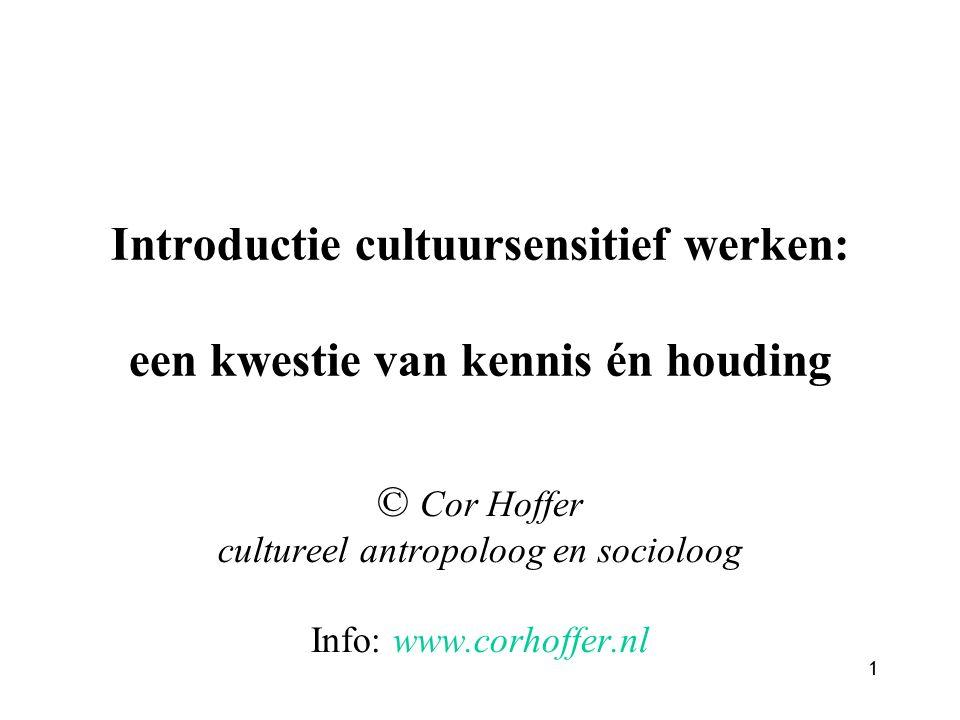 Introductie cultuursensitief werken: een kwestie van kennis én houding