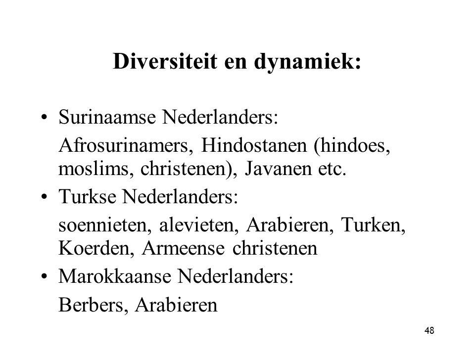 Diversiteit en dynamiek: