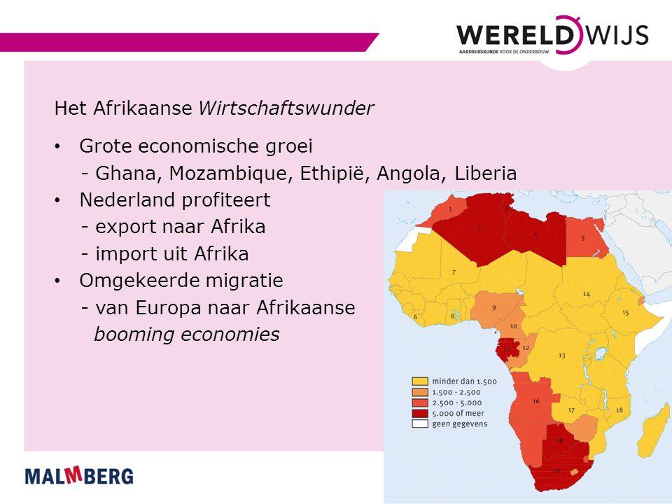 Het Afrikaanse Wirtschaftswunder