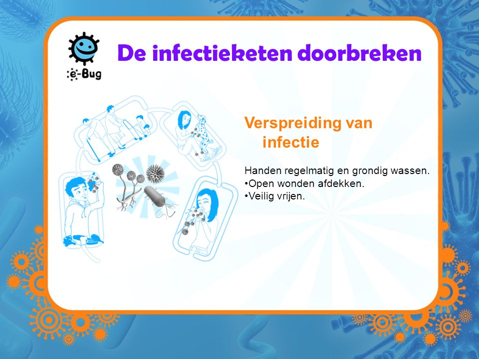 De infectieketen doorbreken