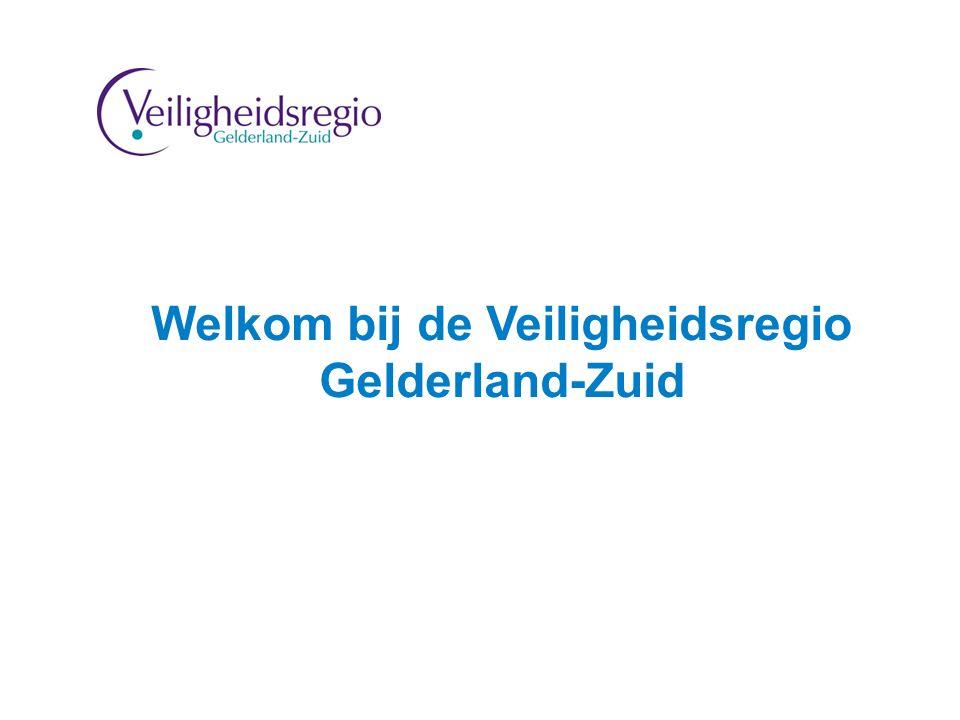 Welkom bij de Veiligheidsregio Gelderland-Zuid