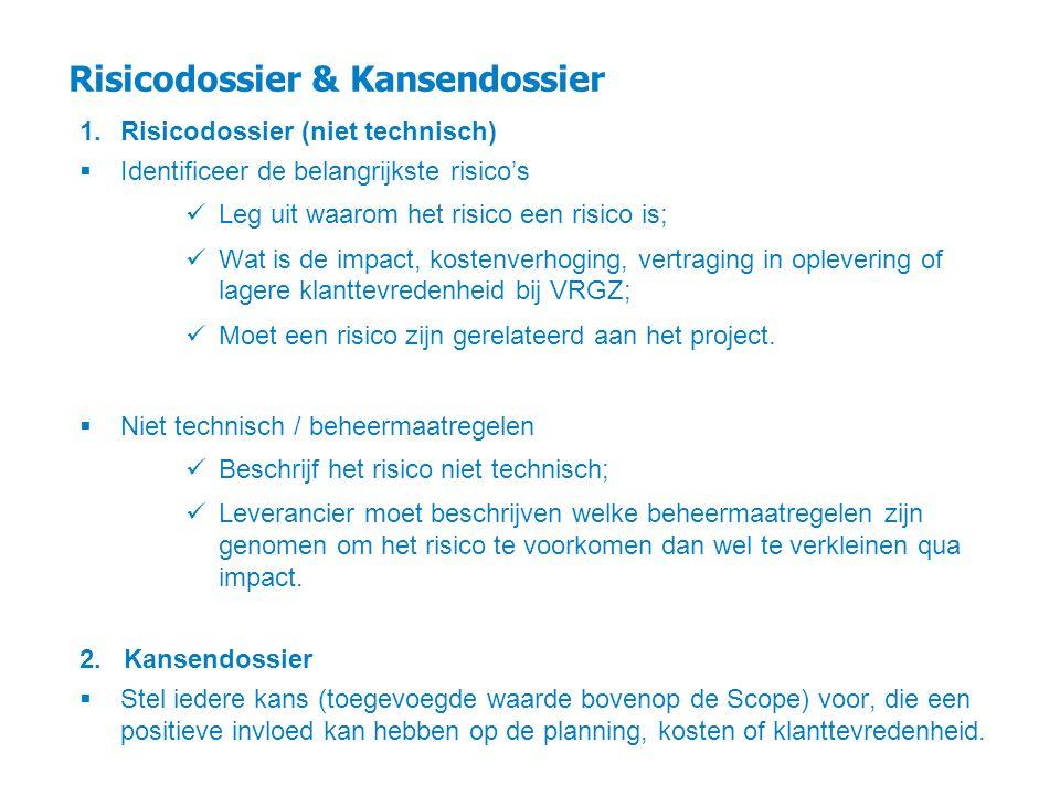 Risicodossier & Kansendossier