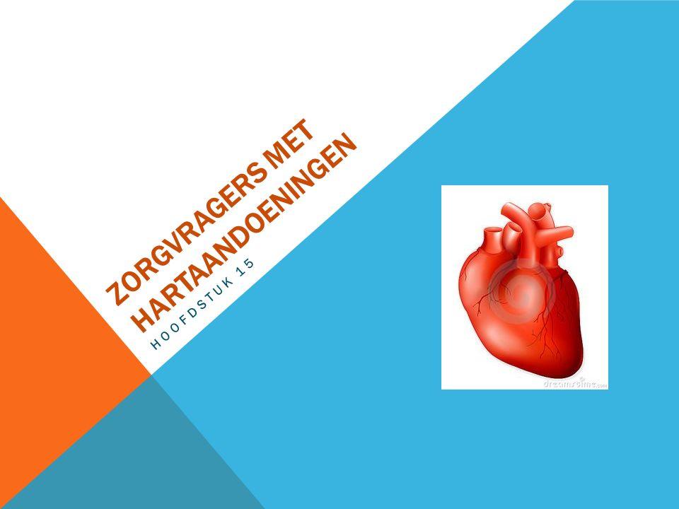 Zorgvragers met hartaandoeningen