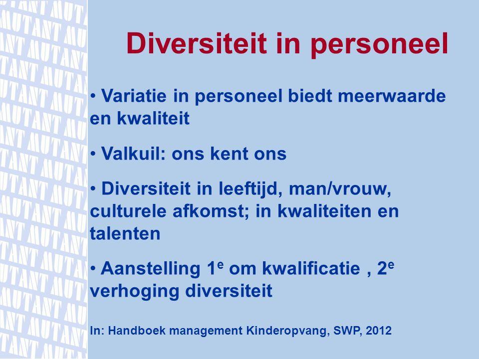 Diversiteit in personeel